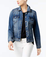 INC International Concepts Denim Trucker Jacket, Created for Macy's