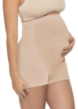 Annette Women's Soft and Seamless Full Cut Pregnancy Boyshorts