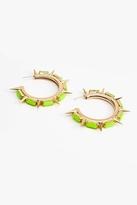 Nasty Gal Sunburst Spike Earrings