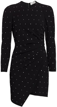A.L.C. Lana Studded Long-Sleeve Mini Dress