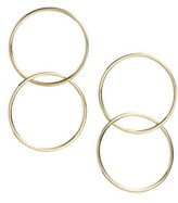 Bony Levy Women's Geo Linked Circle Earrings (Nordstrom Exclusive)