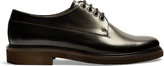 A.P.C. Eleonore leather derby shoes