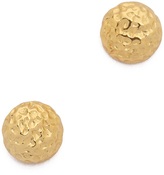 Gorjana Carmel Tiny Hammered Stud Earrings