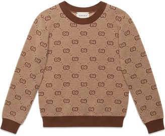 Gucci Kids GG knit jumper