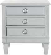 The Well Appointed House Paris Three Drawer Night Stand in Grey