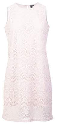Dorothy Perkins Womens *Izabel London Pink Lace Overlay Shift Dress, Pink