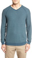 Tommy Bahama Men's 'Make Mine A Double' Reversible Pima Cotton V-Neck Sweater