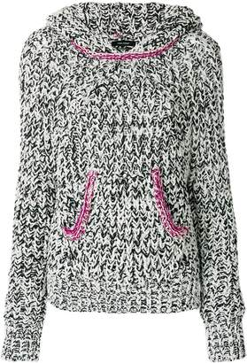 Isabel Marant knitted hooded jumper