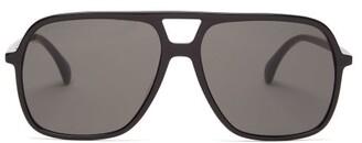 Gucci Aviator Acetate Sunglasses - Black