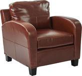 Asstd National Brand Jacob Faux Leather Club Chair