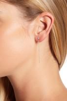 Meira T White Gold Drop Stud Ear Jackets