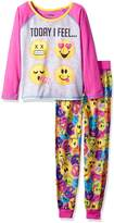 AME Sleepwear Emoji Moods Today I Feel Pajama for girls (7/8)