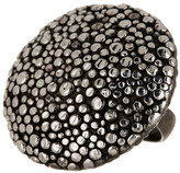 Roberto Coin Oxidized Sterling Silver Stingray Ring - Size 6.5