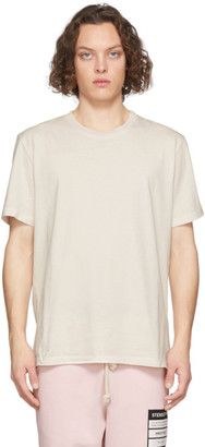 Maison Margiela Three-Pack Purple and Off-White Stereotype T-Shirt