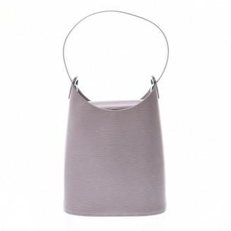 Louis Vuitton Verseau Purple Leather Handbags