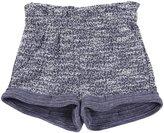 LAmade Kids Shiloh Shorts (Toddler/Kid) - Tweed/Galaxy Navy-6-12 Months