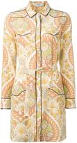Coach printed shirt dress - women - Silk - 0