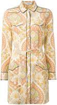 Coach printed shirt dress - women - Silk - 2