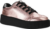 T.U.K. Original Footwear A9223 Metallic Leather Creeper