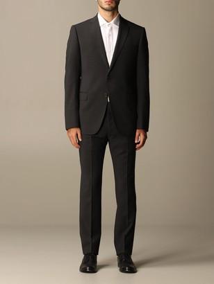 Emporio Armani Suit Single-breasted Suit In Virgin Wool 222 Gr Drop 7