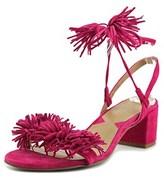 Adrienne Vittadini Alen Open Toe Suede Sandals.