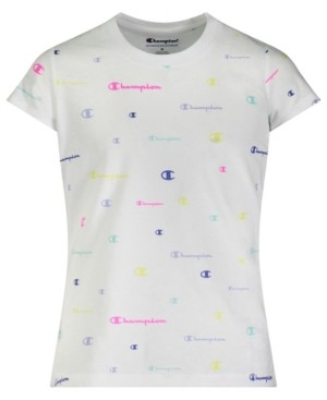 Champion Toddler Girls All Over Print Short Sleeve T-shirt