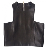 Balmain Leather Bustier