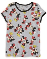Mighty Fine Toddler Girl's Disney - Smooches Graphic Tee