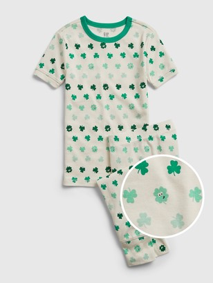Gap Kids Organic Cotton St. Patrick's Day PJ Set