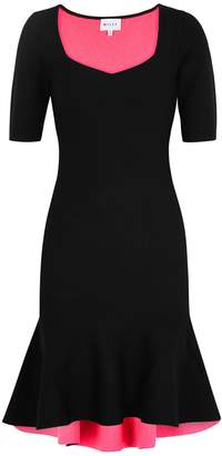Milly Black Stretch-knit Dress