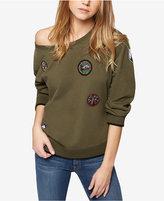 Sanctuary Scout Cotton Off-The-Shoulder Sweatshirt