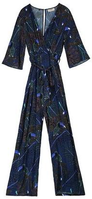 Pyrus - Viola Printed Jumpsuit - S