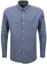 Barbour The Oxford Tailored Fit Shirt Blue
