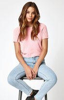 KENDALL + KYLIE Kendall & Kylie Chenille Sweater T-Shirt