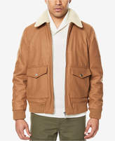 Sean John Men's Bomber Jacket with Fleece Collar, Created for Macy's