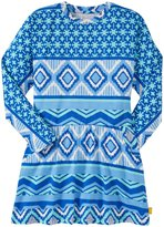 Masala Tribal Street Dress (Toddler/Kid) - Navy-6 Years