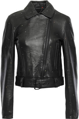 Muu Baa Muubaa Studded Leather Biker Jacket