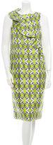 Thomas Wylde Sleeveless Floral Print Dress w/ Tags
