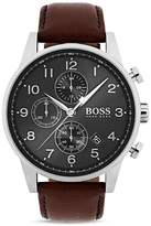 HUGO BOSS Navigator Watch, 44mm