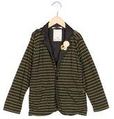 Scotch Shrunk Boys' Striped Knit Blazer