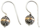 "Novica Artisan Crafted Sterling ""Lampion"" Dangle Earrings"