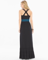 Soma Intimates Strappy Smocked Waist Maxi Dress