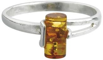 Nature D'ambre Nature d 'Ambre 3111183Women's Ring Silver 925/1000Amber