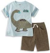 Kids Headquarters Baby Boys Dinosaur Tee and Shorts Set