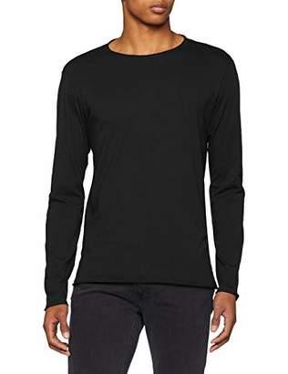 Replay Men's M3592 .000.2660 Long Sleeve Top, (Dark Grey Melange M), XXX