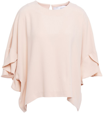 IRO Ultra Oversized Ruffled Crepe Blouse