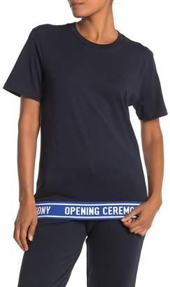 Opening Ceremony Logo Trim T-Shirt (Unisex)