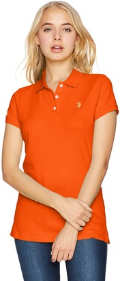 U.S. Polo Assn. Women's Solid Pique Polo Shirt