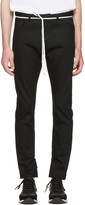 SASQUATCHfabrix. Black Slit Skinny Trousers