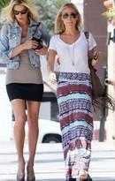 Torn Riley Maxi Skirt